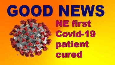 Manipur:  Northeast first Covid-19 patient cured, returns home