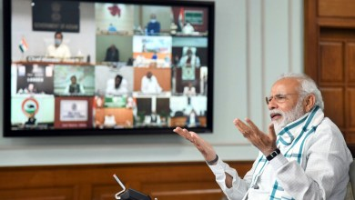 Photo of Prime Minister Narendra Modi interacts with CMs to plan ahead for tackling COVID-19