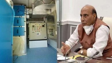 Rajnath Singh inaugurates DRDO developed mobile laboratory to test covid-19