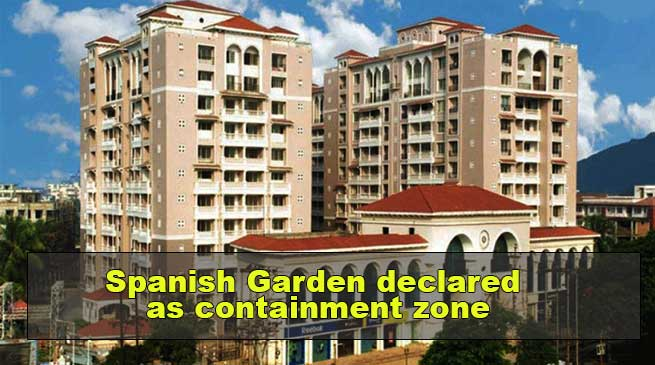 Coronavirus in Guwahati: Spanish Garden declared as containment zone