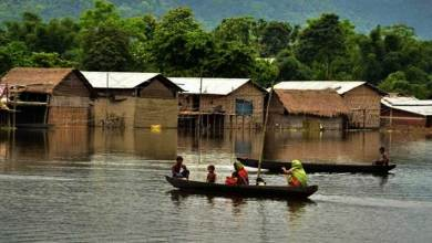 Photo of Assam flood: Over 2 lakh people affected, 35 relief camps setup