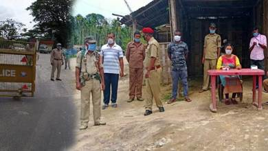 Assam: Security beefed up, medical teams deployed at inter-state check posts in Hailakandi
