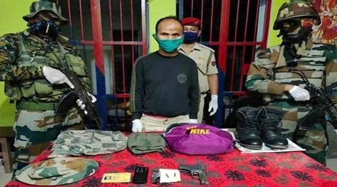 Assam: Army apprehends NSCN(K) worker in Tinsukia