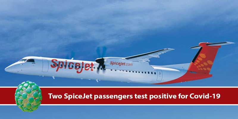 Assam: Two SpiceJet passengers travelled from Ahmedabad to Guwahati test positive for Covid-19