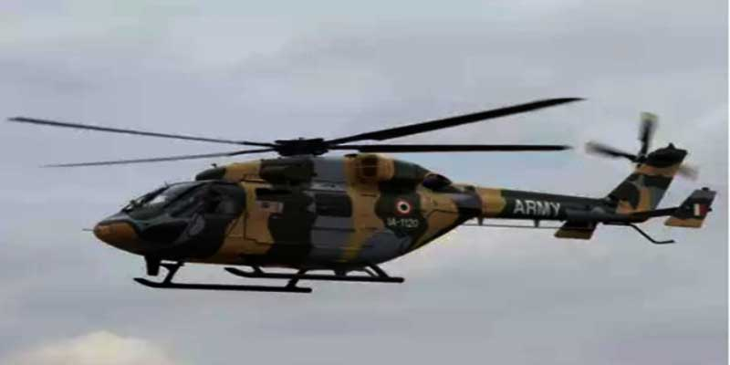 Indian Army's Dhruv Helicopter makes emergency landing in Ladakh