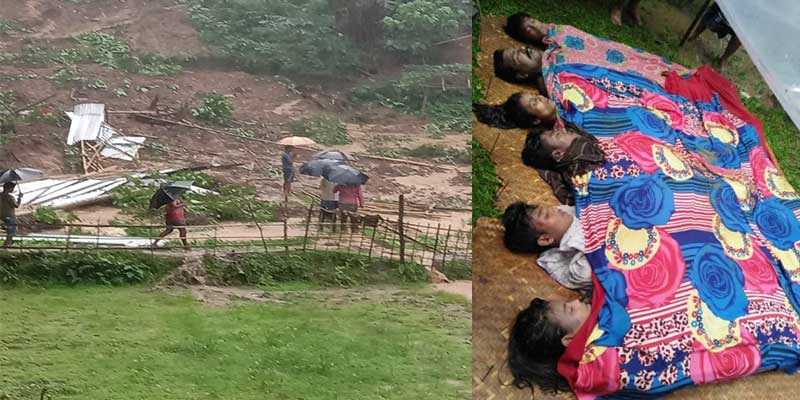 Assam: Incessant rainfall triggers landslides killing 21 people in South Assam