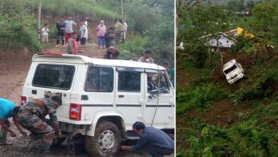 Manipur:  Army rescues accident victims, recovers vehicle in senapati