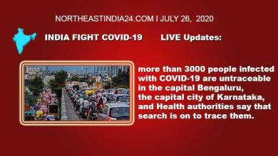 Photo of Coronavirus: India Fight Covid-19, LIVE Updates- more than 3000 people infected with COVID-19 are untraceable in the Bengaluru