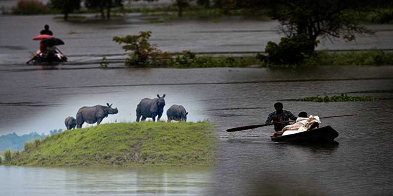 Assam: Flood situation remains grim, over 35 lakh people affected