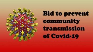 Assam: Bid to prevent community transmission of Covid-19