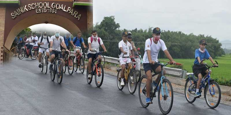Assam: Cycle Rally for Fit India Movement
