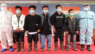 Photo of PLA hands over 5 youths who went missing from Arunachal Pradesh