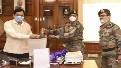 Photo of Assam: Maj Gen Ananta Bhuyan meet CM Sarbananda Sonowal
