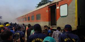 Assam:NCC cadets helps prevent fire in Rajdhani Express