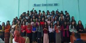 Manipur: Christmas celebrated at Lanching Village