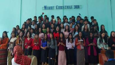Manipur: Christmas celebrated at Lanching Village