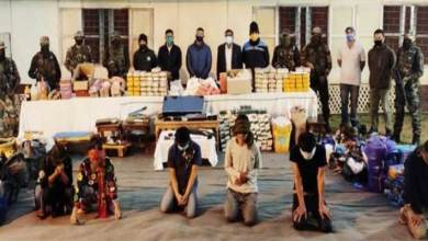 Manipur: Six drug traffickers arrested with drugs worth Rs 165 crores