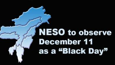 "Assam: NESO to observe December 11 as a ""Black Day"""