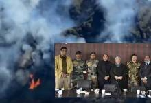 Nagaland: Forest fire in Dzukou valley doused, State Govt felicitates Spear corps Dzukou warriors