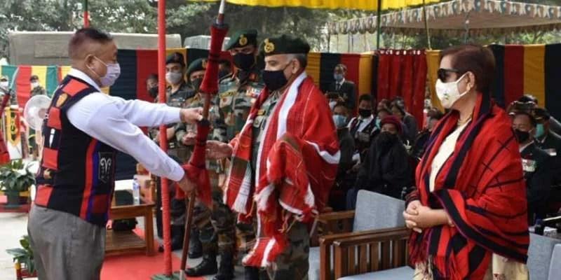 Nagaland: Ex-servicemen rally held at Rangapahar military station