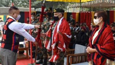Nagaland:   Ex-servicemen rally held at Rangapahar military station