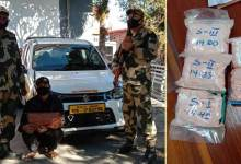 Mizoram:Man arrested with Heroin worth of Rs 1.74 lakh in Aizawl
