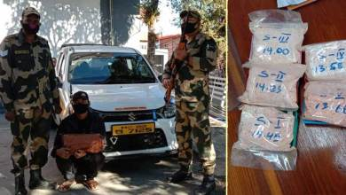 Mizoram: Man arrested with Heroin worth of Rs 1.74 lakh in Aizawl