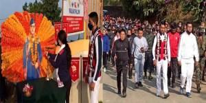 Manipur: Assam Rifles celebrates Parakram diwas at Tamenglong