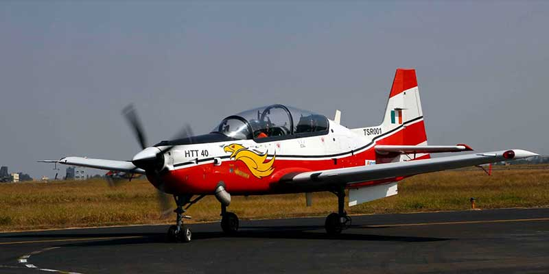 HAL receives Request for Proposal for 70 HTT-40 Basic Trainer Aircraft from Indian Air Force at Aero India 2021