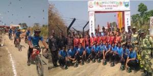 Maitri Cycle Rally Reaches Mizoram