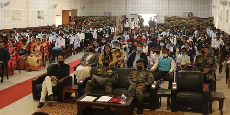 Assam:Army sponsored Coaching Classes for 278 students in Rupai