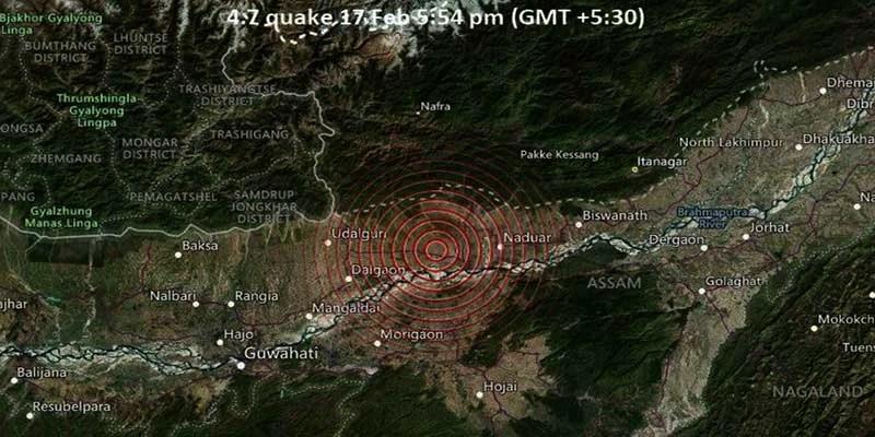 Assam: Strong Tremors felt in Guwahati