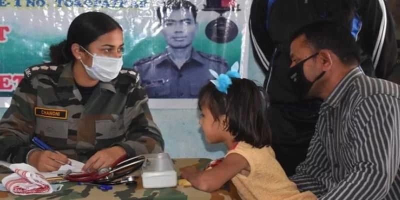 Assam:Army organised sadbhavana medical camp in Tinsukia