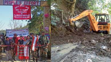 Manipur- Remote road  constructed by the people, for the people in Tamenglong