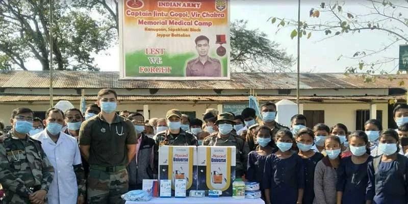 Assam: Army organised sadbhavana medical camp in charaideo