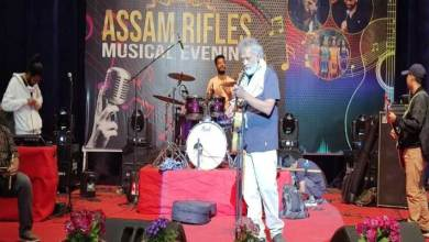 Meghalaya: Assam Rifles organised Musical evening Extravaganza with Lucky Ali