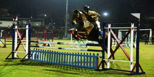 Cadets of 47 Assam R&V Squadron Shines in State Equestrian Championship