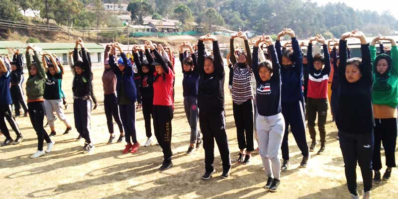 Manipur:Security forces train 325 girls for entry into military & para-military