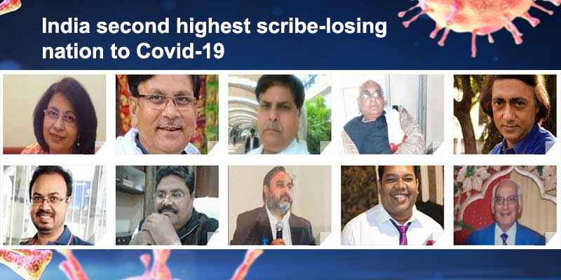 India second highest scribe-losing nation to Covid-19, global tally reaches 1248