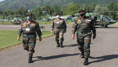 Army Chief Gen MM Naravane, Reviews Security in the Kashmir Valley