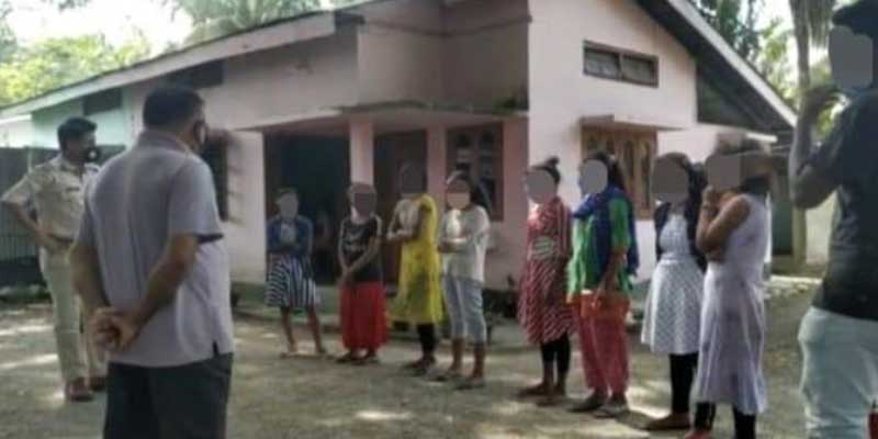 Assam: SSB rescued 34, including 7 girls from Bhutan border while being trafficked to Gujrat
