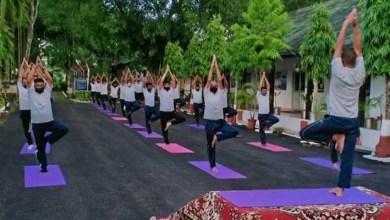 Meghalaya:101 Area Observes International Day of Yoga