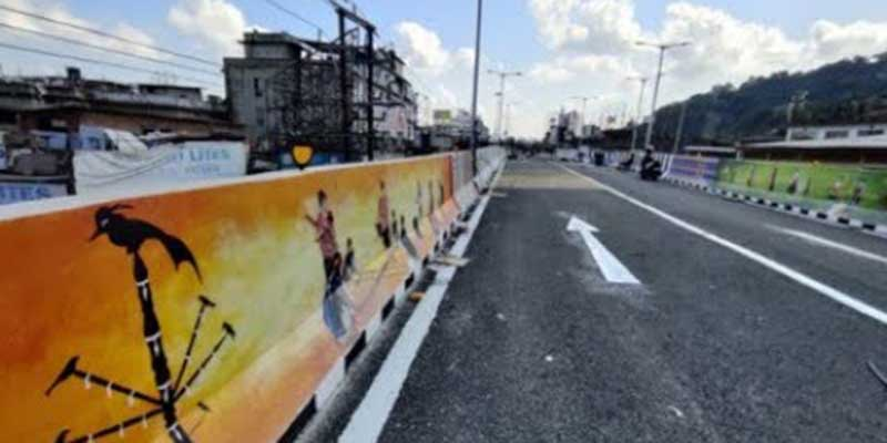 Assam: Graffiti to beautify Guwahati flyovers, Minister Ashok Singhal
