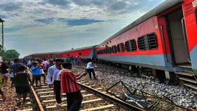 Assam: Guwahati – Howrah Spl Express derailed. No injury, no casualty