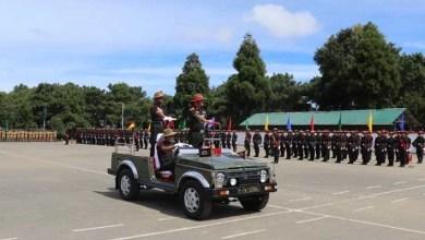 Meghalaya: Passing out parade of 58 Gorkha Training Centre held at Harish Parade Ground