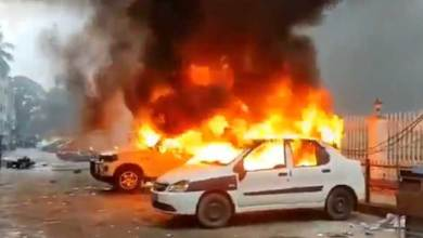 Tripura: CPIM office set on fire after clashes with BJP, several injured