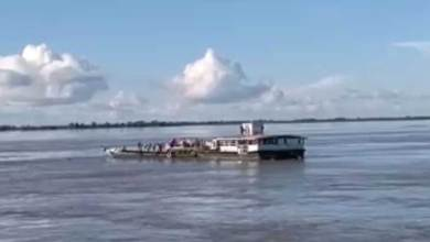 Assam: Tragic collision between two ferries in Brahampura, one Capsizes, Over 50 missing