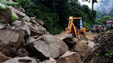 Massive landslide cut off Sikkim from rest of India