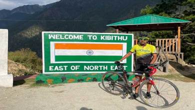 Indian Army officer Bharat Pannu creates guinness world record by cycling fastest from west to east to commemorate swarnim vijay varsh
