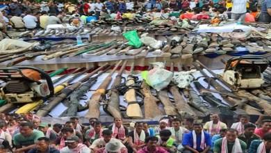 Good News: Over 500 poachers, Timber Smugglers surrender in Assam